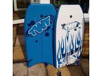 2 mini surf boards