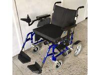 Bariatric Electric wheelchair Wheeltech Energi extra wide