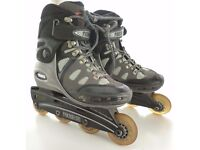 TECHNICA In-line roller skates/blades - size 6.5 - dynamic suspension (from US)