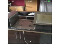 Gas Hob and Extractor Fan