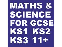 GCSE MATHS & SCIENCE Private Home Tutor, Also KS1 KS2 KS3, Tuitions in the comfort of your home
