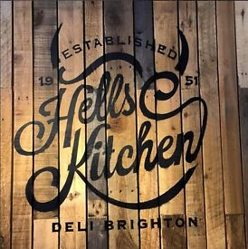 Commis chef wanted for our busy deli's in Brighton