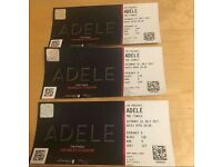 "3x Adele Tickets ""The Finale"" Wembley Tickets Saturday 01 July 2017"