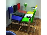 Kitchen Dining Table with 6 Chairs