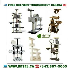 Brand New!! Gorgeous Cat Trees, Condos & Activity Centres | Delivery Included || $49 & UP