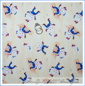 Boneful fabric fq cotton quilt baby boy nursery rhyme for Nursery fabric sale