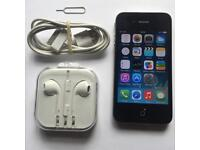 Apple iPhone 4 16GB- Black