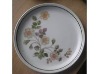 Marks & Spencer Autumn Leaves Dinner Plates, Breakfast Cups and saucers.