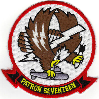 Vp-17 (us Navy Squadron Patch) (from Squadron 1980's)
