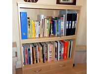 light wood Bookcase
