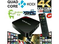 Android tv box with one month IPTV