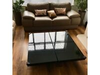 Designer coffee table with storage