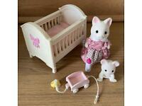 Sylvanian family nursery set