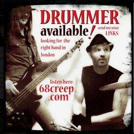 Drummer/Songwriter AVAILABLE