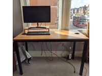 Desk for working or gaming