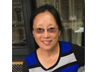 Online Chinese Mandarin lessons with experienced (20+ years teaching) tutor