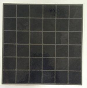 green vinyl floor tiles