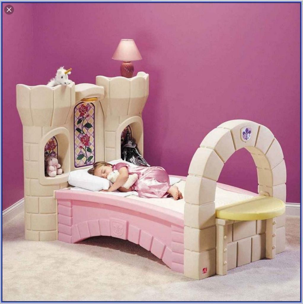 Step 2 Princess Castle Bed   Single