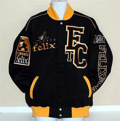 FELIX THE CAT Cartoon Varsity Style UNISEX ADULT JACKET - Adult Cartoon Cat