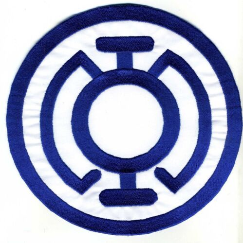 """5"""" Blue Lantern Corps Classic Style Embroidered Iron-On Patch"""