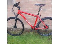 MTRAX ADULTS BIKE. .disc brakes.. city centre liverpool