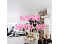 BE OUR FRIENDS! FOH staff for Award winning Aussie cafe in South London