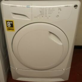 Zanussi 8kg heatpump self cleaning system dryer