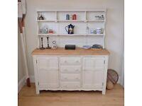 Vintage ercol dresser, kitchen dresser, Welsh Dresser, sideboard, painted dresser (1263)