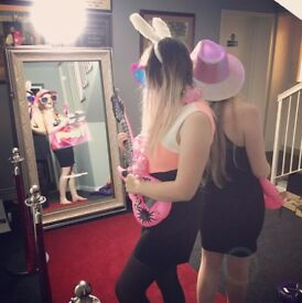 Magic Selfie Photo Mirror Photo Booth Hire across the North West