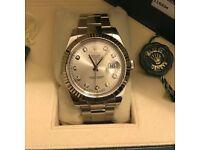Rolex Date-Just II 116334 Diamond Dial 2016 BARGAIN!!!