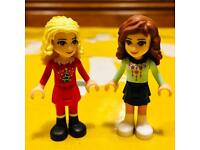 2x Lego Friends minifigs in Christmas jumpers!