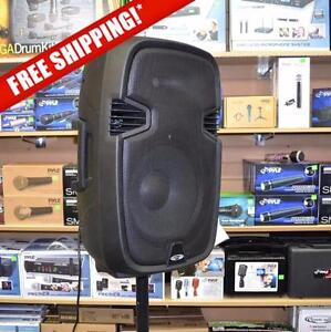 ACOUSTIC AUDIO 4312EB 12'' TWO-WAY PA ACTIVE LOUDSPEAKER WITH USB / SD CARD INPUTS & BLUETOOTH COMPATIBILITY