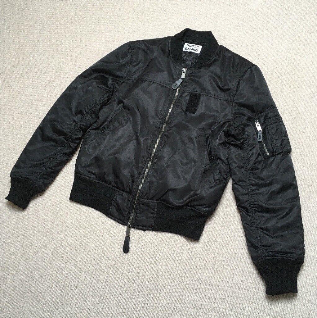 ee43fed6b1d Indigo   Maine MA1 Bomber Jacket (Not Kanye