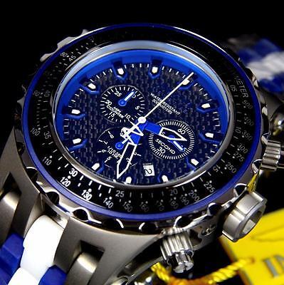 Invicta Reserve Specialty Subaqua Titanium Ceramic Swiss Movt Blue Watch New
