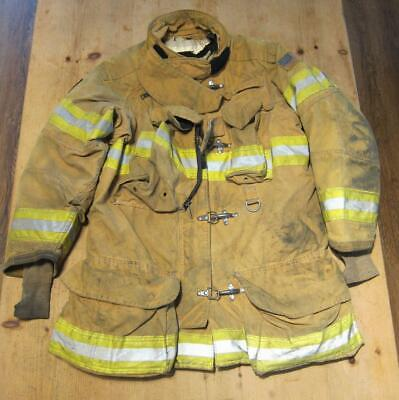 Lion Janesville Firefighter Fireman Turnout Gear Jacket Size 44.36.8 - B E1