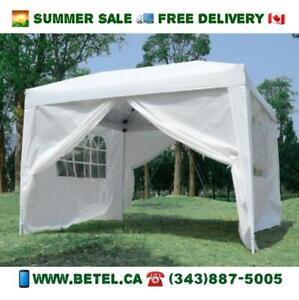 SUMMER CLEARANCE | Brand New 10x10 ft Pop Up Wedding Party Canopy Tents For Sale