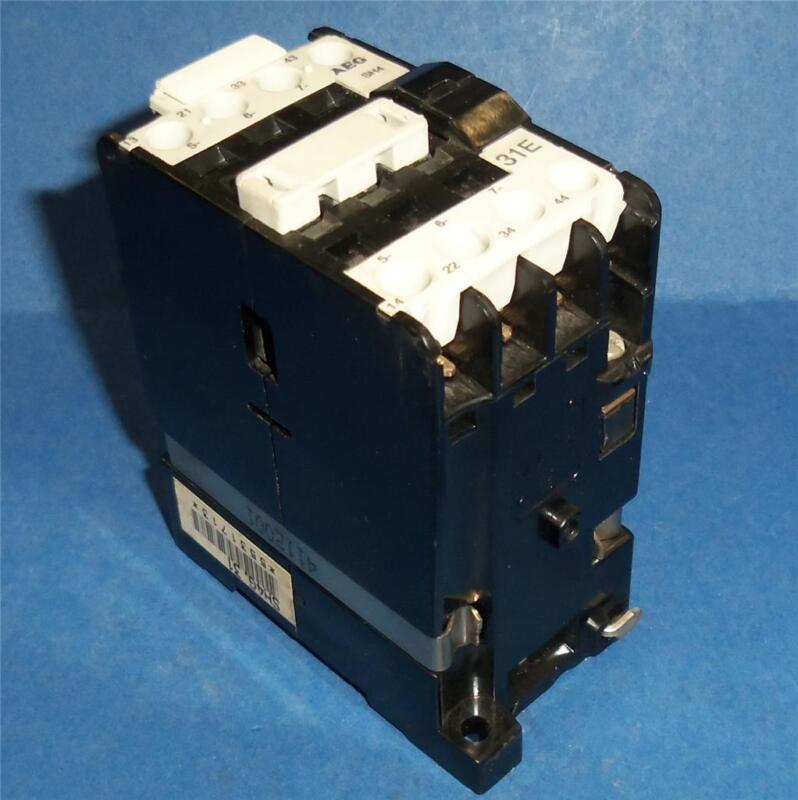 AEG MODICON 24VDC COIL CONTACTOR 719-00 *PZF*
