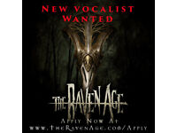 Vocalist Wanted for Rock/Metal Band The Raven Age