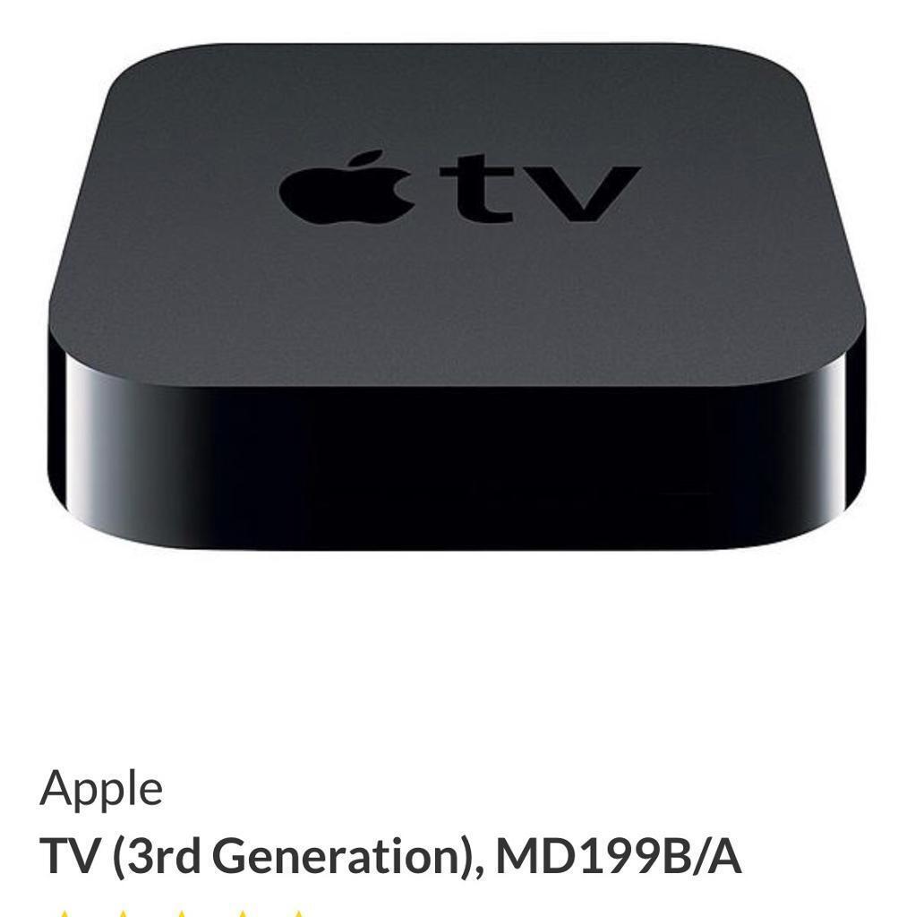 Apple TV 3rd Generation MD199B/A