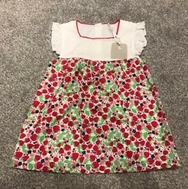 New with tags baby girls dress age 12-18 months Collection Pontprennau