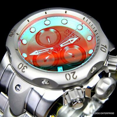 Invicta Reserve Venom Shifting Tinted Crystal Titanium Case Steel 53mm Watch New