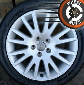 """17"""" Genuine Audi alloy spare wheel Brand New with Brand New tyre."""