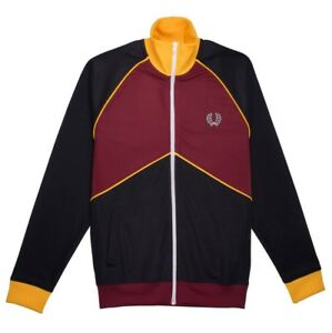 Fred Perry chevron track jcket