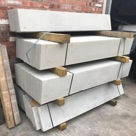 🐌 NEW ~ CONCRETE BASE PANELS/ GRAVEL BOARDS/ FENCING POSTS