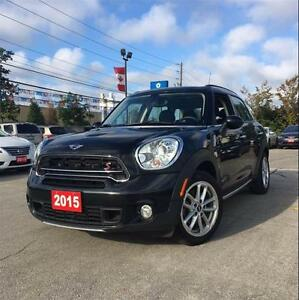 2015 MINI Cooper Countryman Cooper S, Sunroof, Heated Seats, AWD