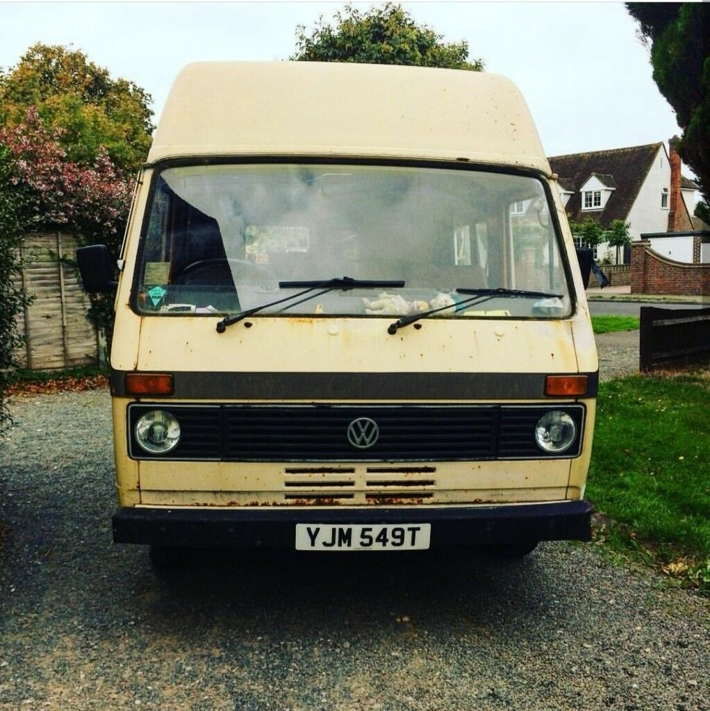 2f4250a553 Volkswagen lt28 mk1 vw camper day van. Bognor Regis ...