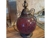 Moroccon tea lamp