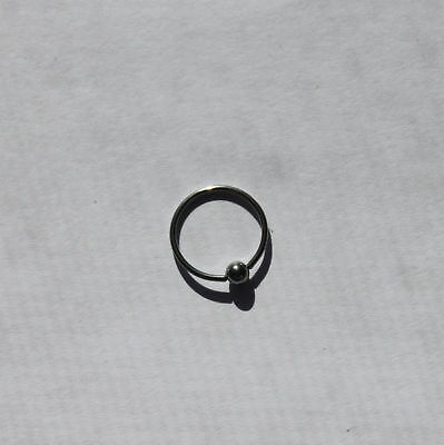 20g CBR Captive Bead Ring Body Piercing Stainless Steel