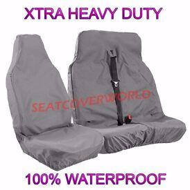 van heavy duty waterproof seat covers 2+1 brand new