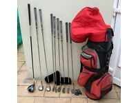 Mens Beginner Set of Golf Clubs